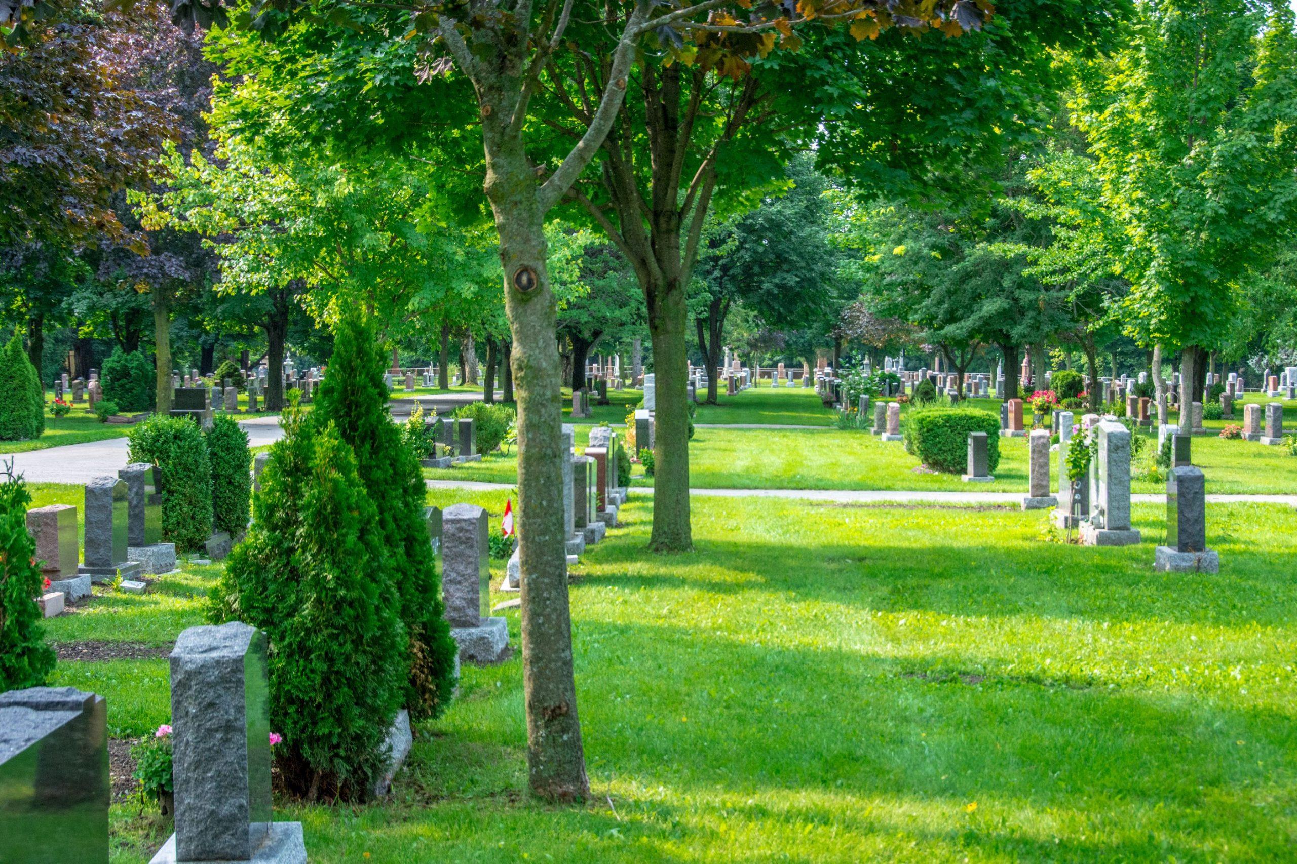 inhumation funerailles ecologiques environnement
